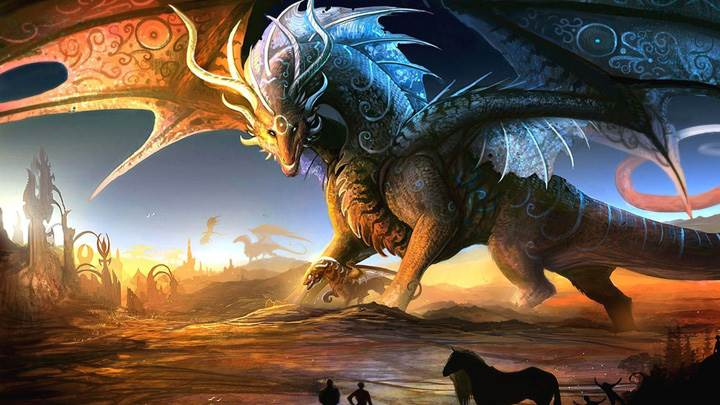 Dragon Fantasy Art